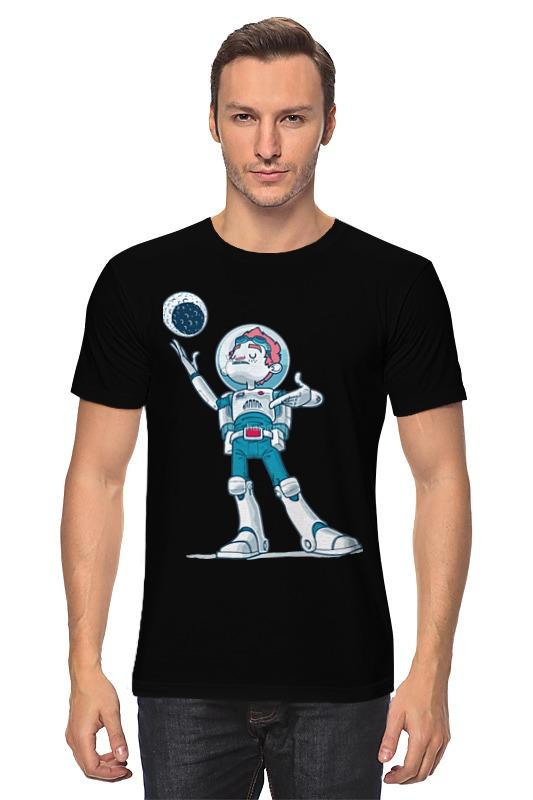 Футболка классическая Printio Astroboy / астронавт телескоп ioptron astroboy оранжевый