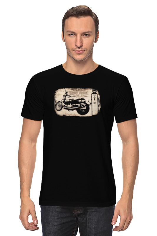 Футболка классическая Printio Harley-davidson футболка harley davidson