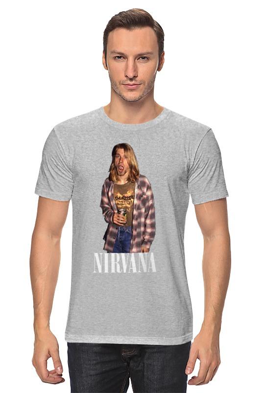 Футболка классическая Printio Nirvana kurt cobain футболка классическая printio kurt cobain