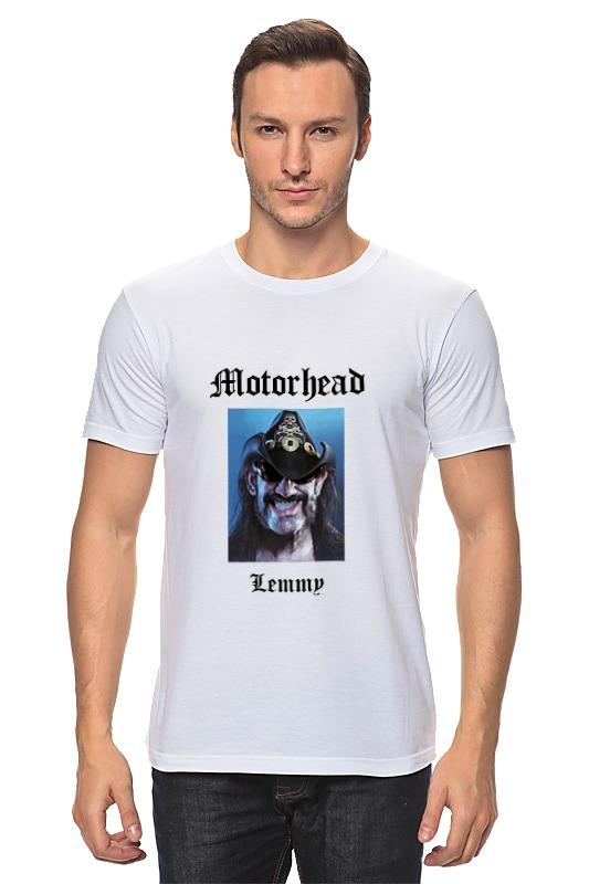 Футболка классическая Printio Motorhead - lemmy kilmister футболка wearcraft premium printio lemmy kilmister motorhead