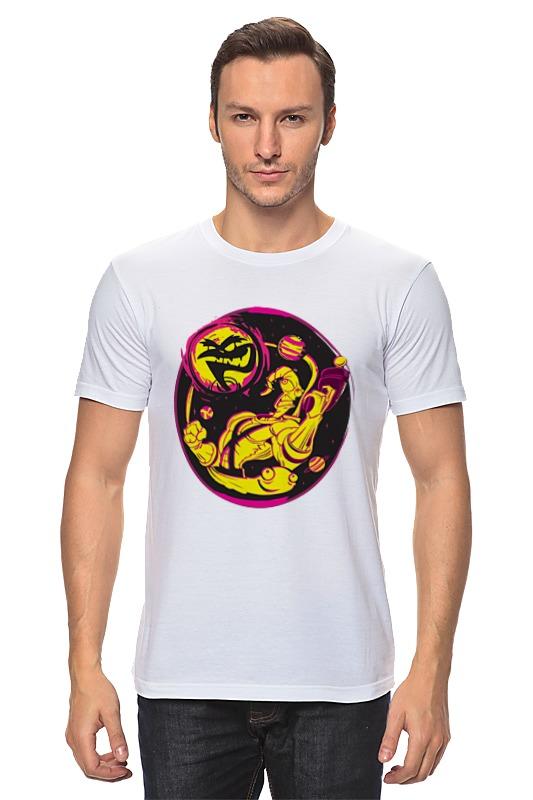 Футболка классическая Printio Червяк джим футболка с полной запечаткой для мальчиков printio червяк джим