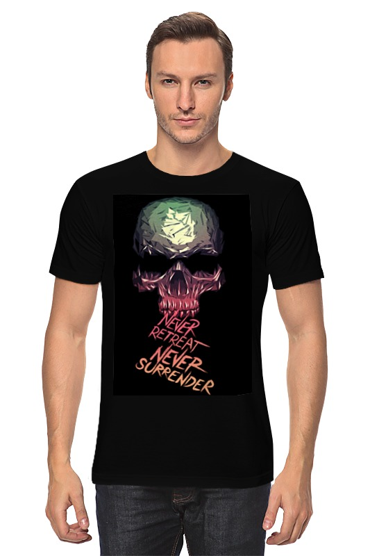 Футболка классическая Printio Skull - 3 fashionable punk style skull pendant necklace