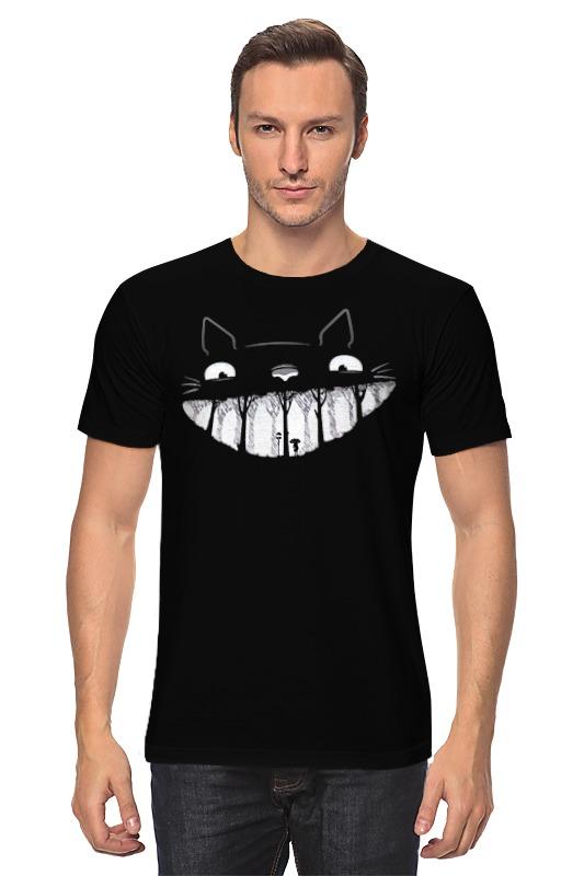 Футболка классическая Printio Улыбка кота майка классическая printio футболка улыбка