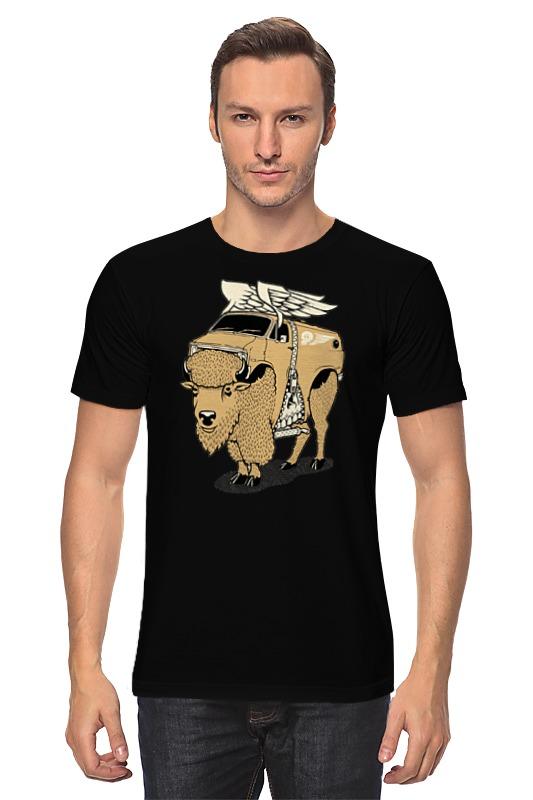 Футболка классическая Printio Yak bull / бык як цена