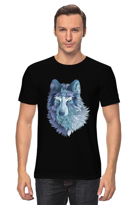 Футболка классическая Printio Beautiful wolf футболка print bar wolf motivation