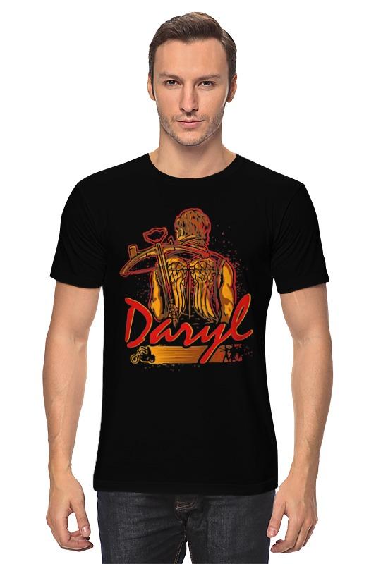 Футболка классическая Printio Daryl (the walking dead) майка классическая printio the walking dead daryl