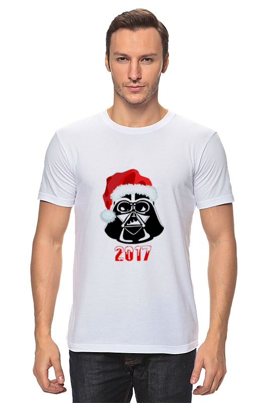 Футболка классическая Printio Darth vader новый год футболка классическая printio новый год 2018