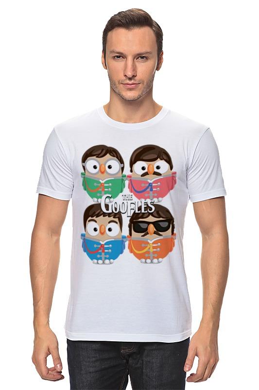 Футболка классическая Printio Сова битлз (the beatles) суперсова goofi футболка классическая printio сова мэрилин монро суперсова goofi