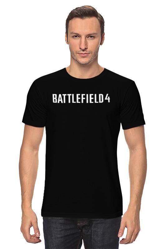 Футболка классическая Printio Battlefield 4 футболка print bar battlefield 4