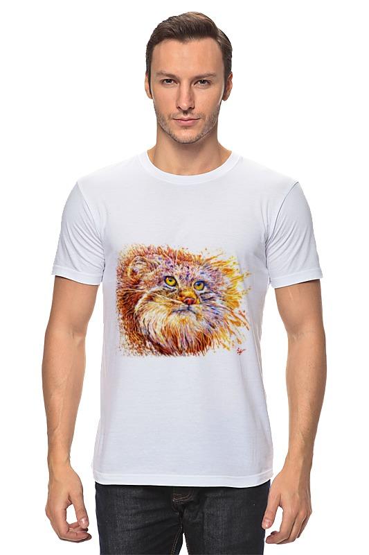 Футболка классическая Printio Манул ( вариант-2) футболка классическая printio 62 2% в саратове