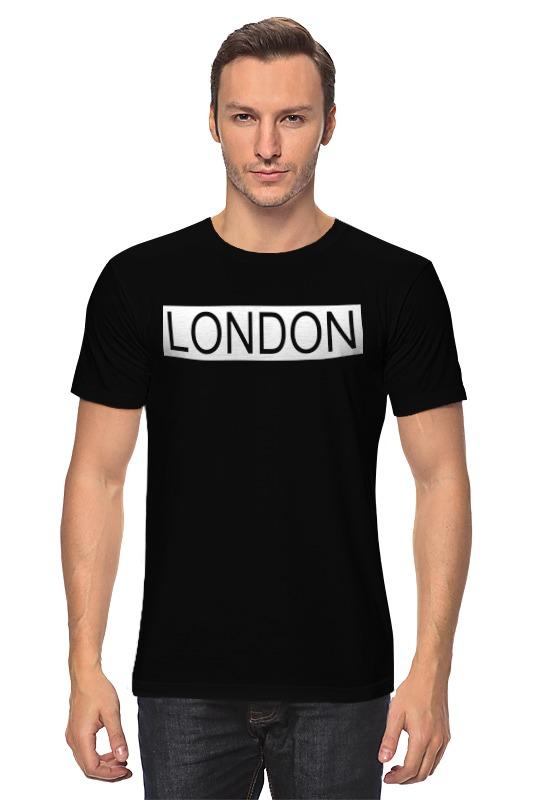 Футболка классическая Printio london футболка print bar london girl