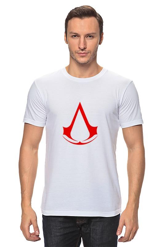 Футболка классическая Printio Assassins creed (logo) майка классическая printio assassins creed