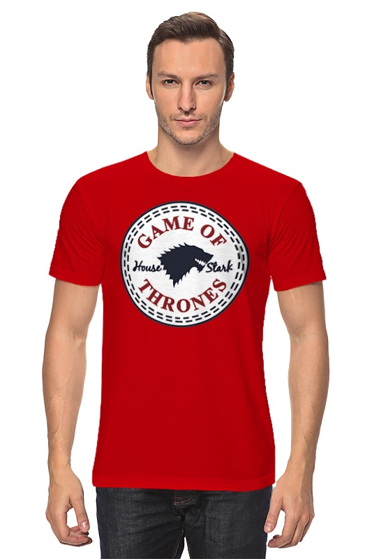 Футболка классическая Printio Дом старков (игра престолов) футболка wearcraft premium printio игра престолов