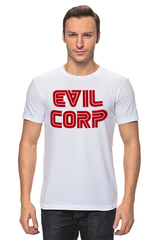 Футболка классическая Printio Evil corp designs corp