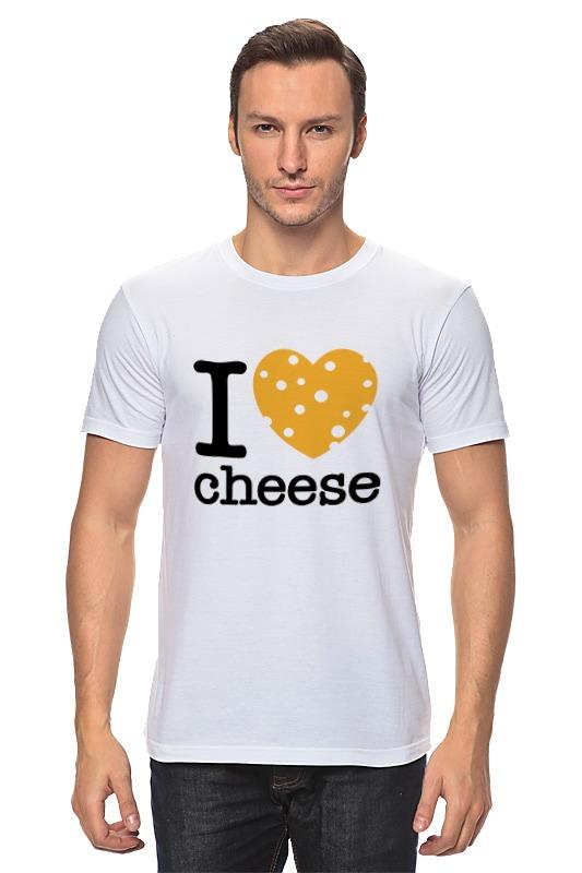 Футболка классическая Printio Я люблю сыр