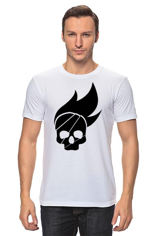 Футболка классическая Printio Череп футболка print bar бараний череп