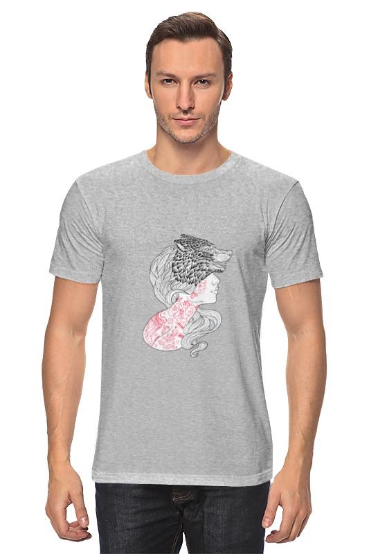 Футболка классическая Printio -wolf- футболка print bar wolf motivation