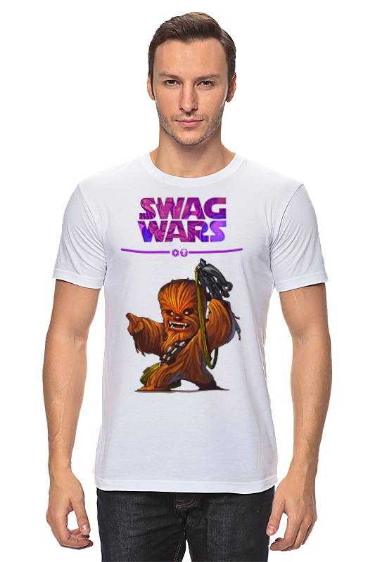 Футболка классическая Printio Swag wars - star wars футболка star wars