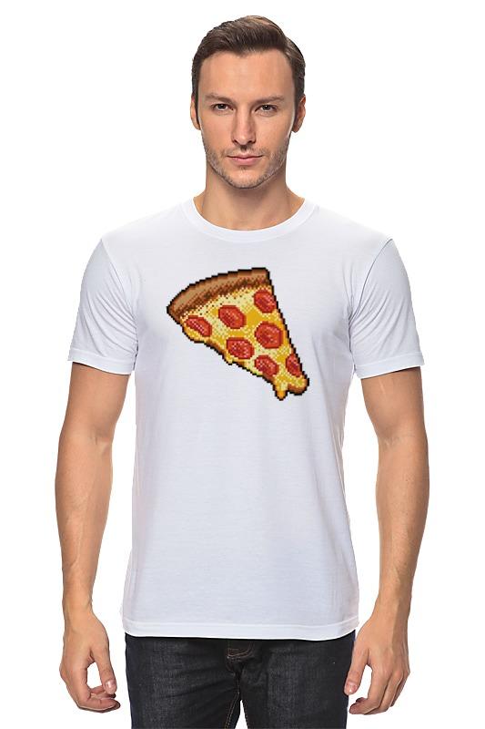 Printio Пицца (8-бит) детская футболка классическая унисекс printio пицца 8 бит