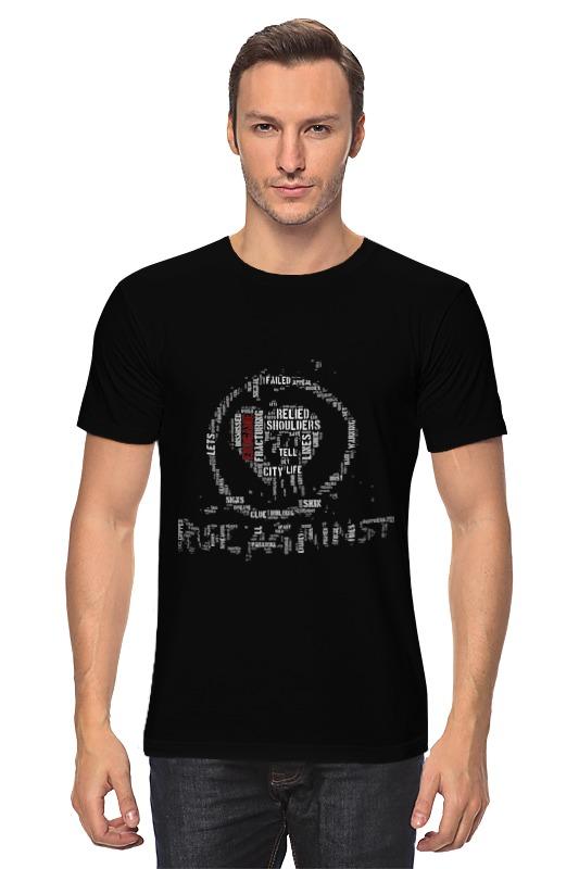 Футболка классическая Printio Rise against - logo