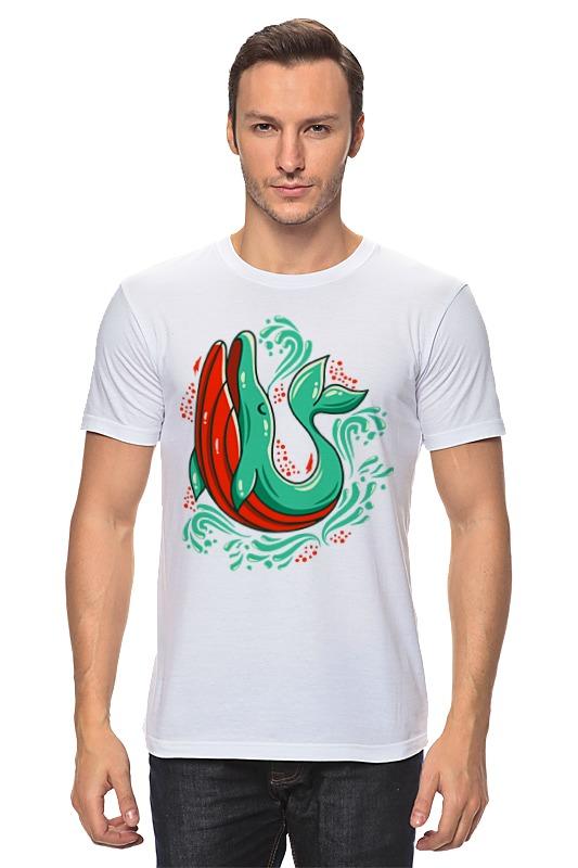 Футболка классическая Printio Милый кит футболка классическая printio кит ричардс
