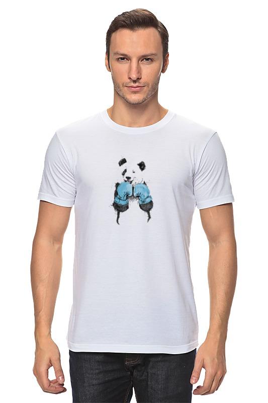 Футболка классическая Printio Панда боксер детская футболка классическая унисекс printio панда боксер