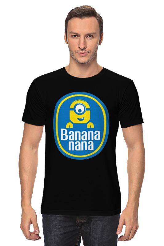 Футболка классическая Printio Banana nana коврик для мышки круглый printio banana nana