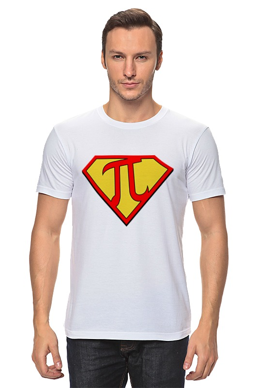 Футболка классическая Printio Супер пи (super pi) футболка стрэйч printio супер пи super pi