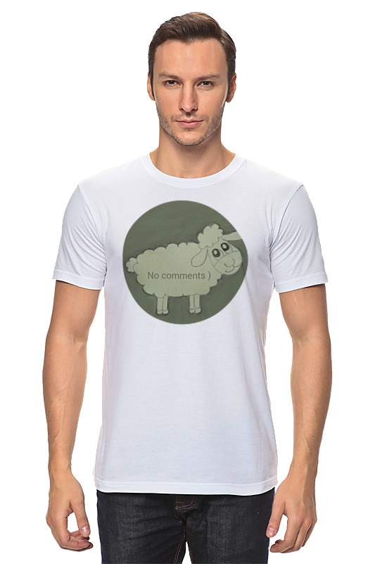 Футболка классическая Printio Футболка овечка футболка классическая printio модная овечка