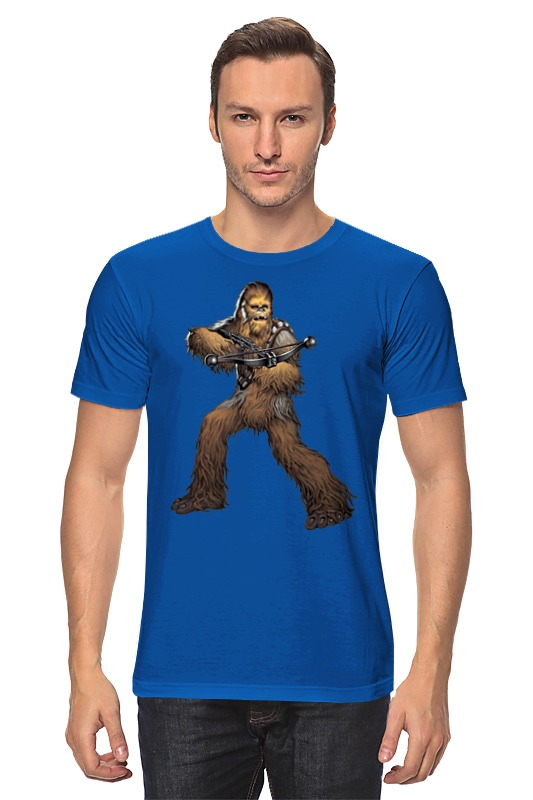 Футболка классическая Printio Chewbacca (star wars) лонгслив printio chewbacca star wars