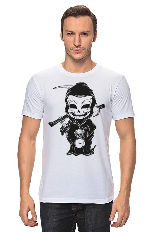 Футболка классическая Printio Смерть футболка классическая printio смерть арт