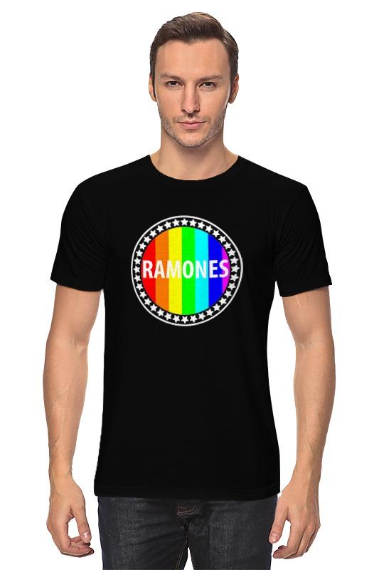 Футболка классическая Printio Ramones свитшот print bar ramones