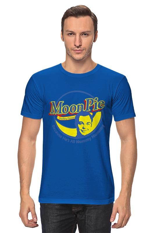 Футболка классическая Printio Шелдон купер (moon pie) футболка стрэйч printio шелдон купер moon pie