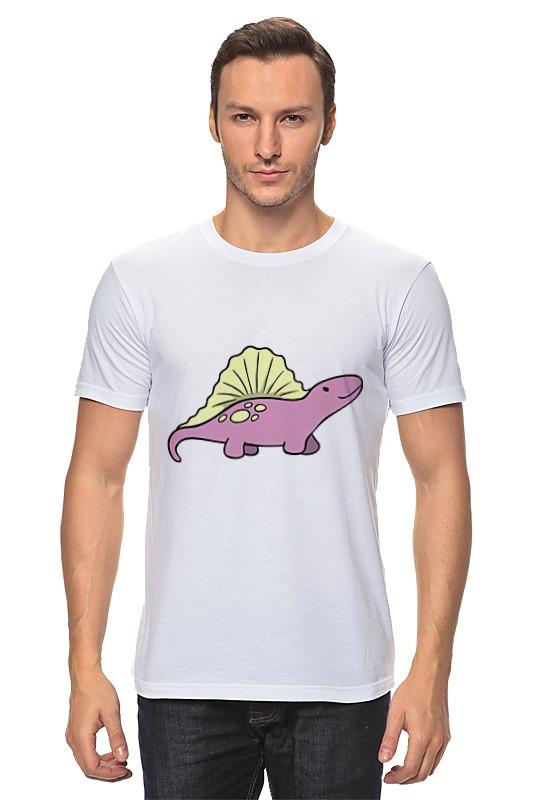 Футболка классическая Printio Забавный динозаврик футболка мужская senleis sls t1616 2015 1616
