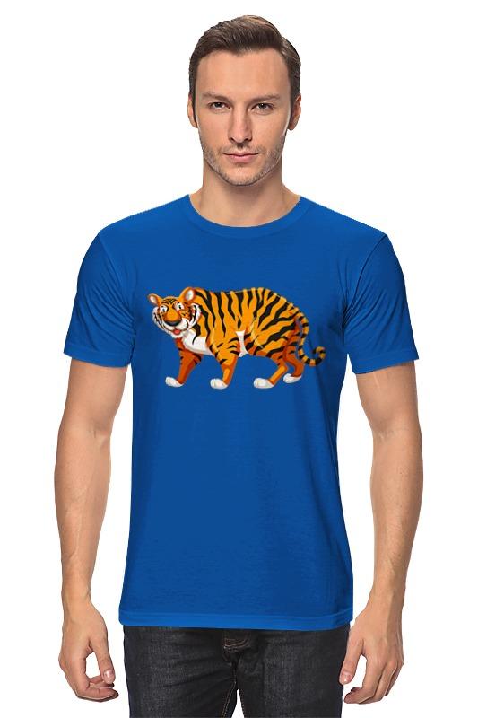 Футболка классическая Printio Тигр (tiger) тигр tiger челюстно b18c импортированные рисоварки внутренний 5л