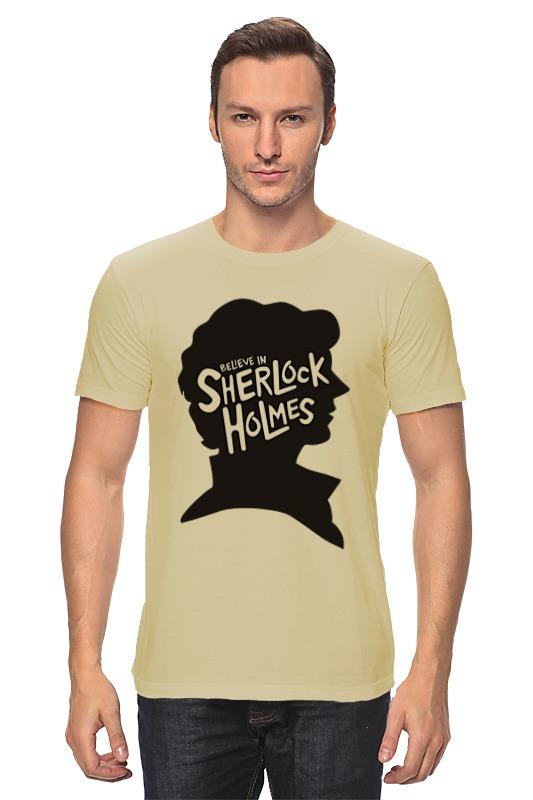 Printio Believe in sherlock футболка классическая printio believe in sherlock
