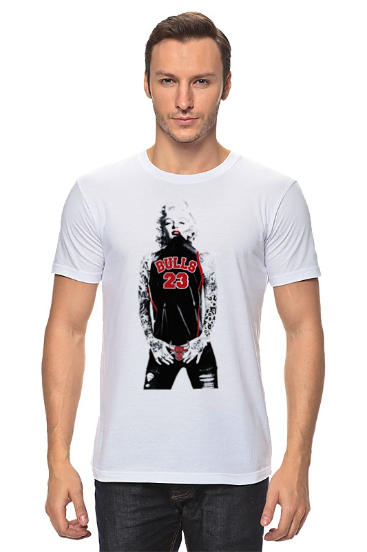 Футболка классическая Printio Chicago bulls marilyn monroe футболка print bar chicago bulls