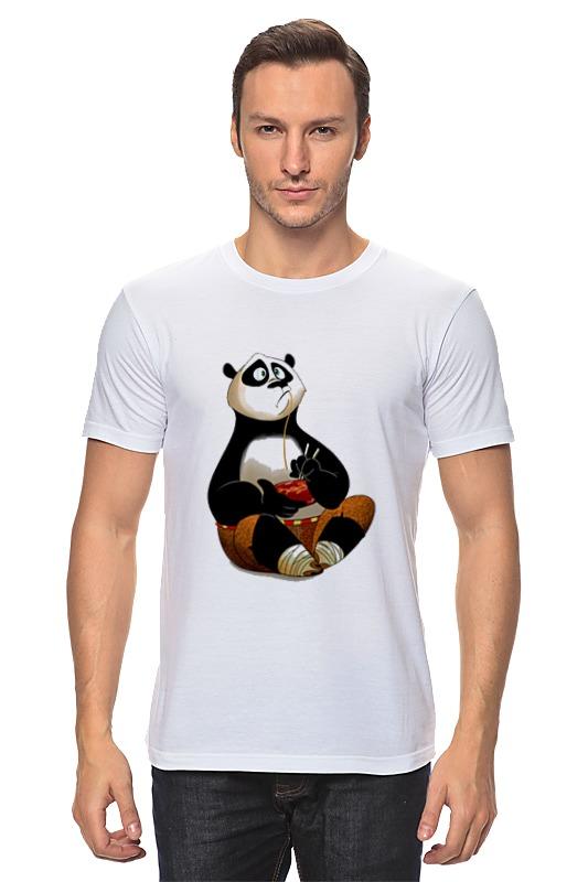 Футболка классическая Printio Кунг фу панда кунг фу панда 2 blu ray dvd