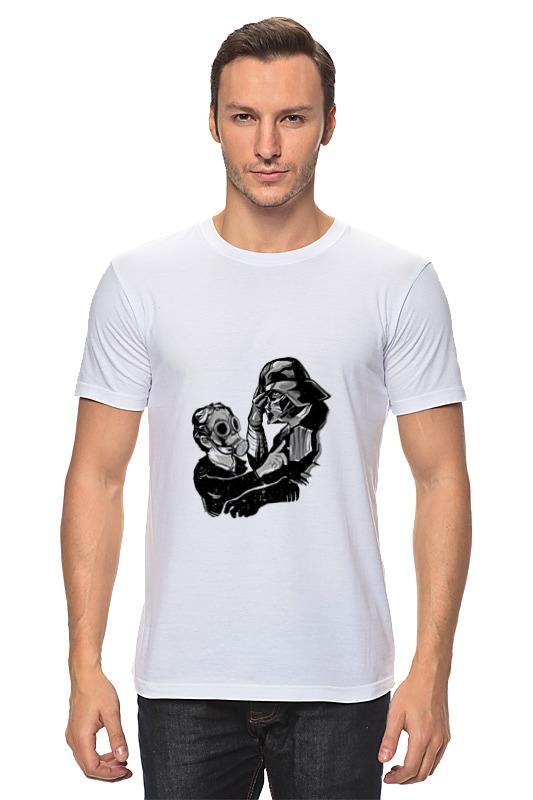 Футболка классическая Printio Darth vader и слон