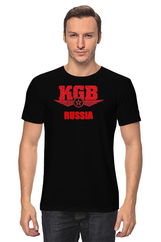 Футболка классическая Printio Kgb russia