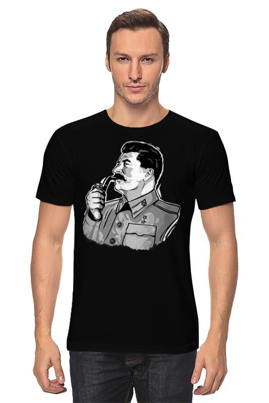 Футболка классическая Printio Сталин сталин биография вождя