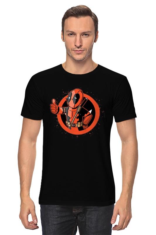 Футболка классическая Printio Deadpool цена