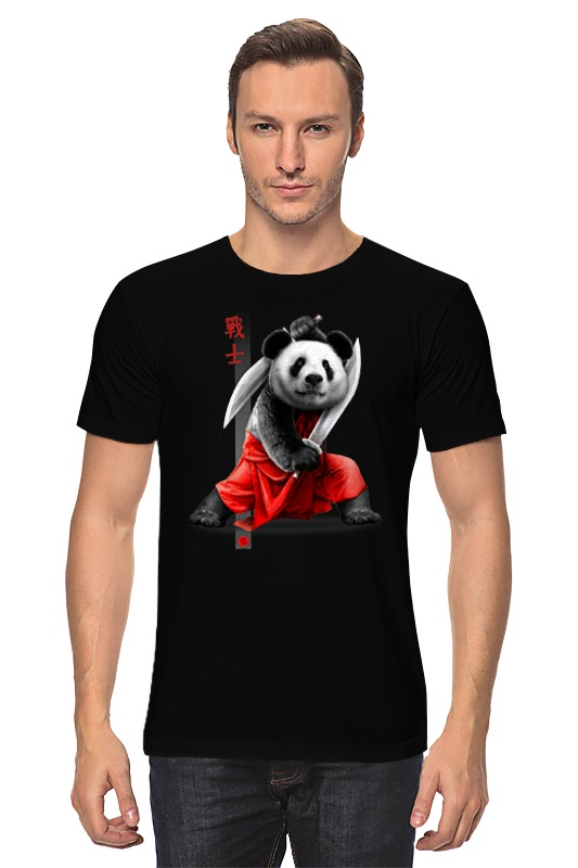 Футболка классическая Printio Панда с мечами футболка классическая printio панда с мечами