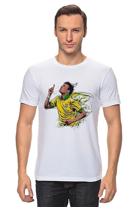 Футболка классическая Printio Неймар футболист футболка неймара в псж