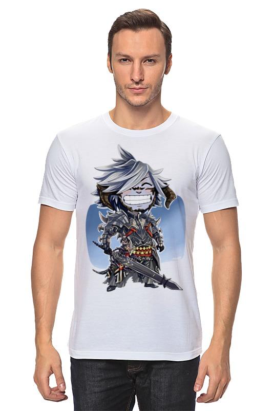 Футболка классическая Printio Воин с оружием детская футболка классическая унисекс printio воин с оружием