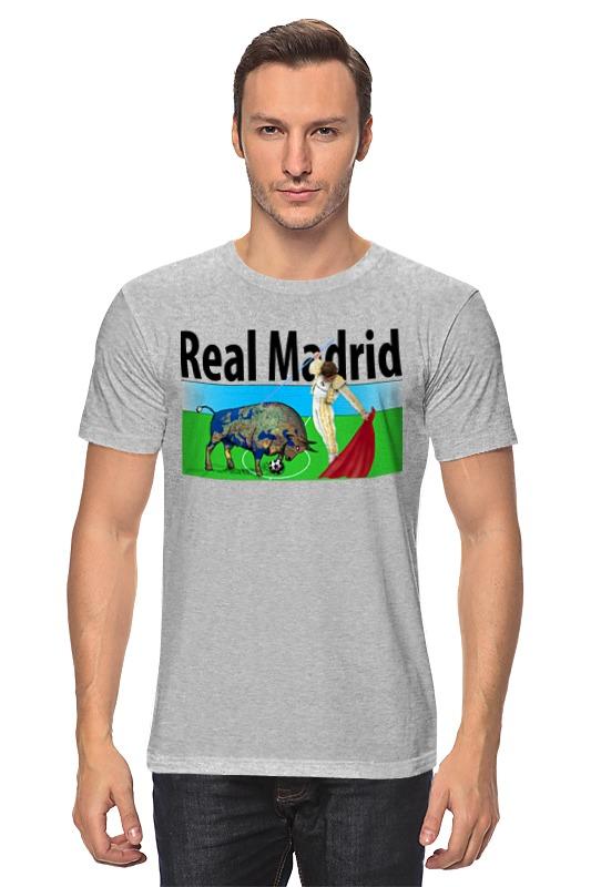 Футболка классическая Printio Real madrid футболка классическая printio real madrid