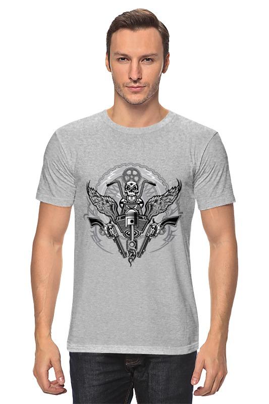 Футболка классическая Printio Байкер футболка для байкера