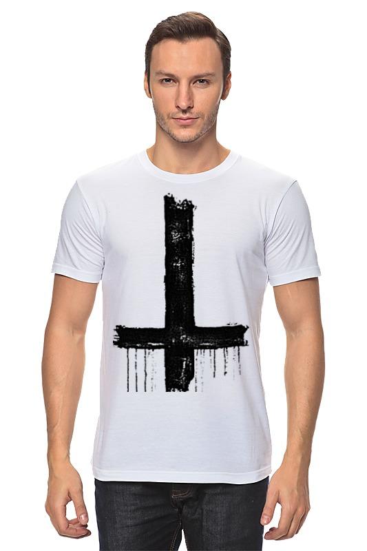 Футболка классическая Printio Крест футболка классическая printio 91 отдельная бригада вв мвд красноярск