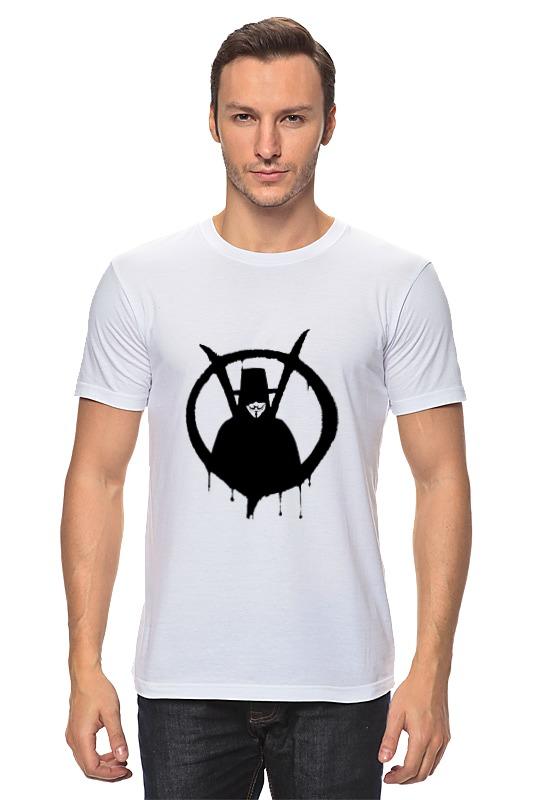 Футболка классическая Printio V значит вендетта футболка с полной запечаткой женская printio v значит вендетта