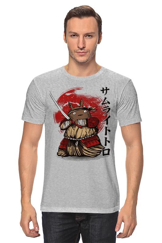Футболка классическая Printio Тоторо самурай майка классическая printio тоторо самурай